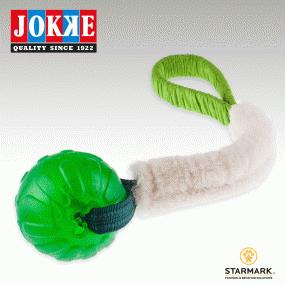 JOKKE_BOLLIPOP_LAMB_21CM_X_BALL_10CM_GREEN_FABRIC