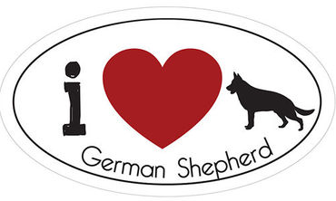 _I_LOVE_GERMAN_SHEPHERD__AUTOMAGNEETTI
